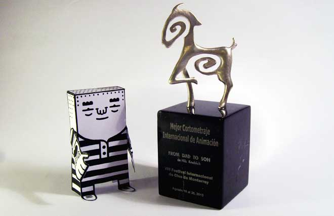 """From Dad To Son"" gewinnt Animationspreis in Monterrey / Mexiko"