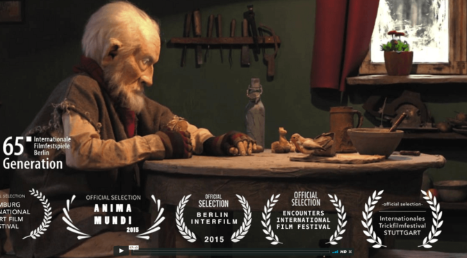 »The Old Man and the Bird« – online premiere